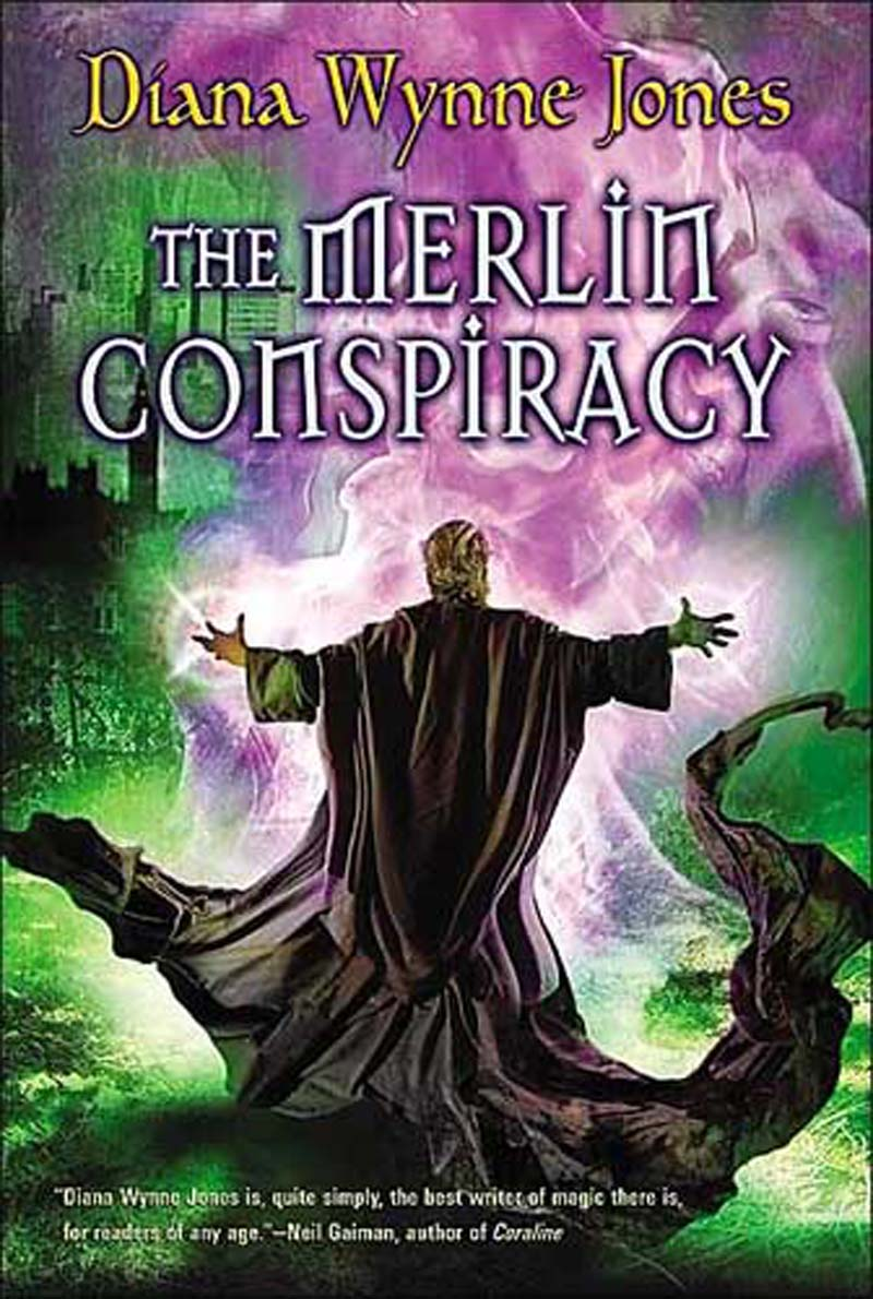 Jones,Diana Wynne Merlin Conspiracy BOOK:PAPERBACK